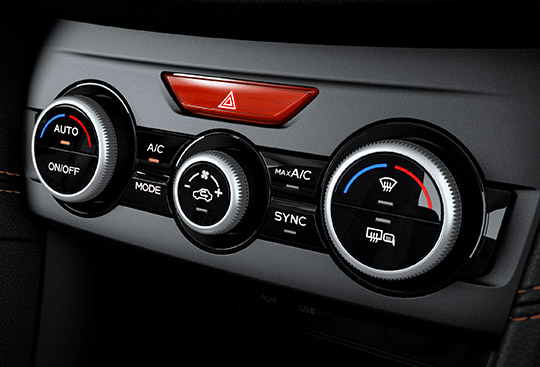 Dual-zone Automatic Air-conditioning System